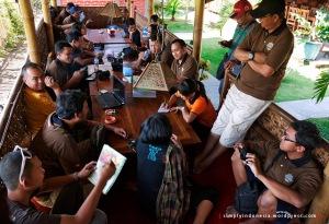 Makan siang di Istana Lesehan, Ponorogo