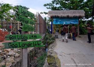 Pintu Masuk Desa Sawarna