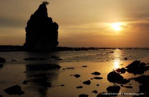 Sunset Jingga Tanjung Layar