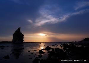 Sunset Pantai Tanjung Layar