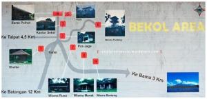 Peta Bekol Area