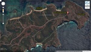 Peta Pantai Tangsi - Tanjung Ringgit - zoom in