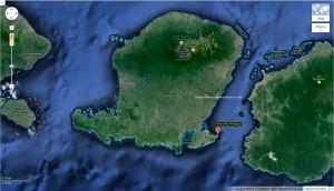 Peta Pantai Tangsi - Tanjung Ringgit - Zoom out