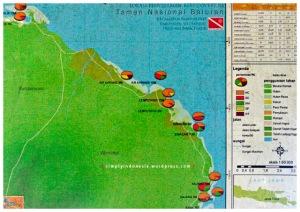 Peta Penyelaman Reef Covery III