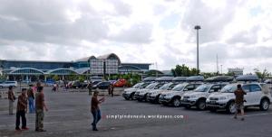 Tim Terios 7 Wonders di Bandar Udara Internasional Lombok