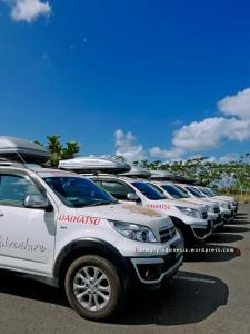 Tim Terios 7 Wonders masih di Bandara Internasional Lombok