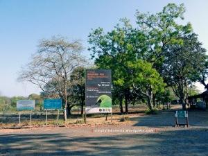 View di depan Pesanggrahan Bekol