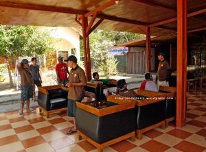 Ruang tunggu Hotel Mutmainnah