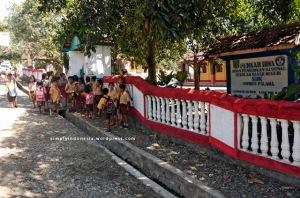 Anak-anak SDN Inpres Palama
