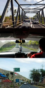 Kondisi jalan Sumbawa menuju Desa Palama