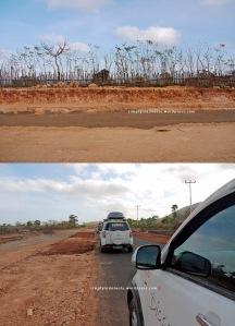 Perbaikan jalan di Sumbawa