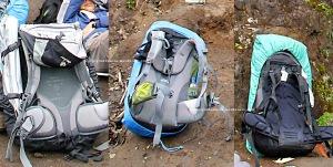 backpack back system