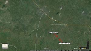 Peta Gua Jomblang dan Gua Grubug 1