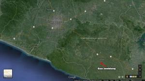 Peta Gua Jomblang
