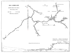 Sistem Gua Jomblang versi BCRA