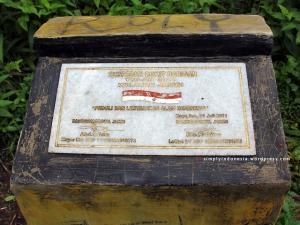 Batu Prasasti Ekspedisi Bukit Barisan Juli 01, 2011