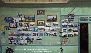 Interior, bagian dalam Basecamp Jejak Kerinci