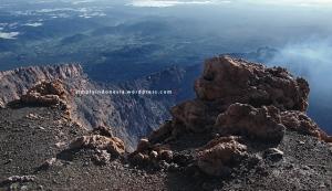 Crater rim Gunung Kerinci