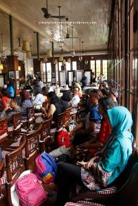 Suasana Cafe Batavia, Kota Tua Lantai 2