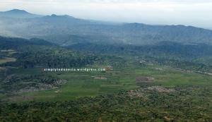 View Kayu Aro dari Puncak Indrapura