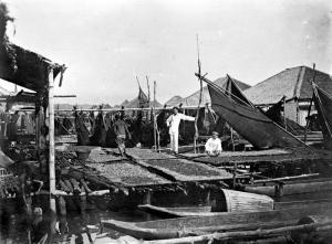 Lokasi pembuatan terasi atau trassi di Jawa Tengah (1920-1925), Koleksi Tropenmuseum