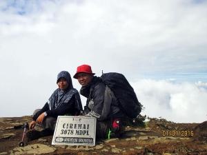 Puncak Gunung Ciremai (3,078 mdpl)