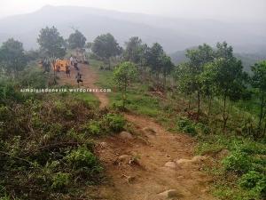 Lokasi kemping (camping ground) Gunung Batu Jonggol